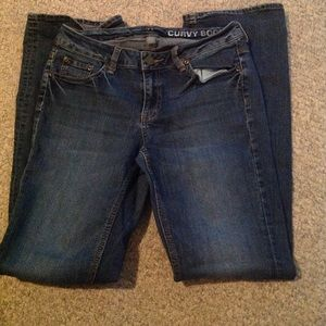 NY & Co curvy bootcut jeans size 6